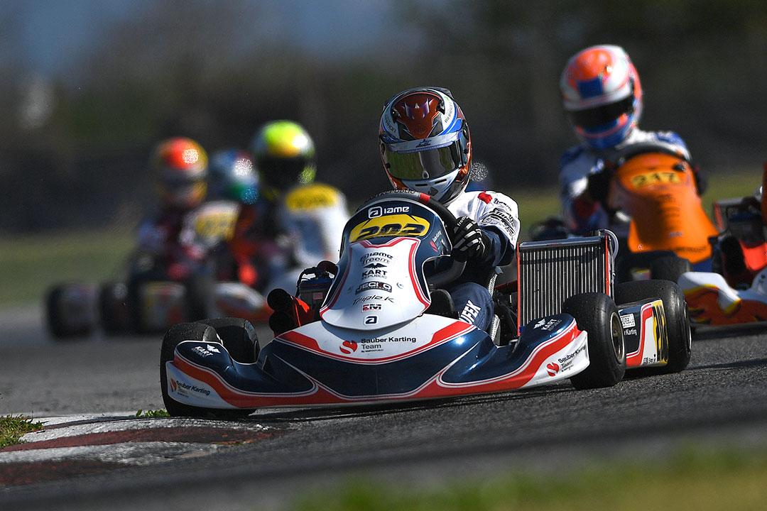 Sauber Karting Team By Kart Republic Wsk Euro Series Sarno