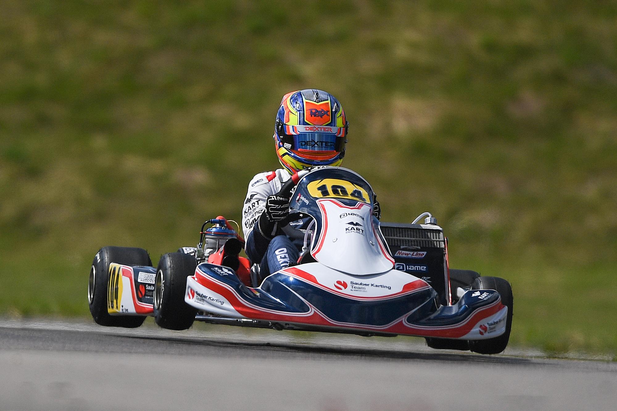 Sauber Karting Team Leaves Sweden Still Leading The Championship
